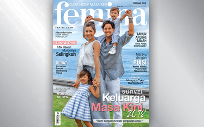 Femina Magazine Edisi Februari 2018
