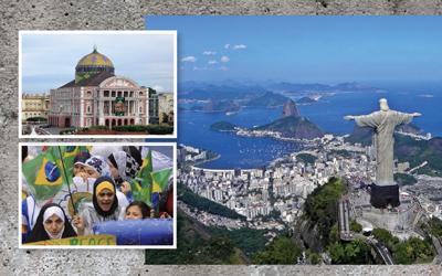 Seri Kisah Muslim Dunia: Brazil, Kecil Tapi Kompak