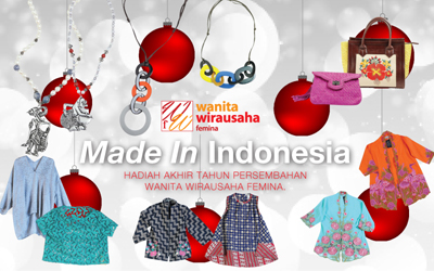 Inilah Pemenang Hadiah Akhir Tahun: Made in Indonesia dari Wanita Wirausaha femina