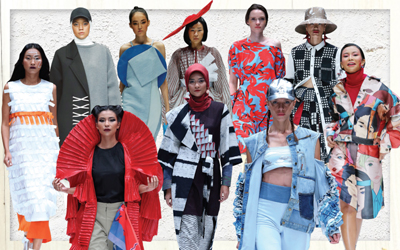 Editor's Choice: Tren Mode Tahun Depan dari Panggung Jakarta Fashion Week 2018