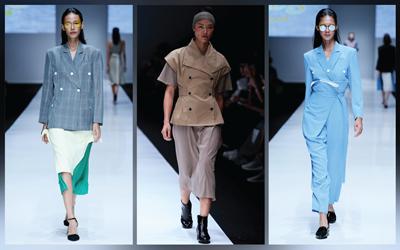 Tampil Lebih Edgy ke Kantor dengan 6 Gaya dari Jakarta Fashion Week 2018