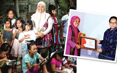 Nursyda Syam, Menebarkan Budaya Membaca Melalui Klub Baca Perempuan