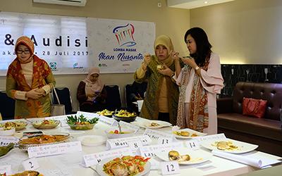 Mousse Nila Asam Padeh Juara 1 di Kota Audisi Jakarta