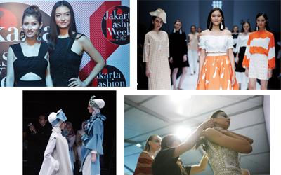 Gaya Selebritas dan Trend Desainer Lokal Indonesia di JFW 2017