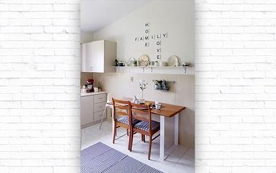 Cara Menerapkan Warna Putih di Dapur Mungil Ala Marissa Fauzia