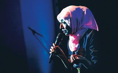 Sakdiyah Makruf, Sempat Sembunyi-Sembunyi Saat Awal Tampil di Panggung Stand-Up Comedy