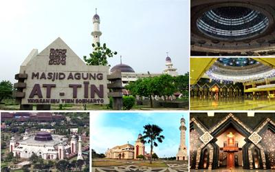 Pesona Tersembunyi Masjid At-Tin, Jakarta