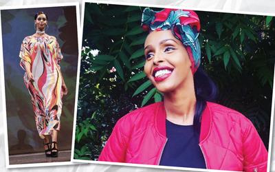 Muna Jama, Peserta Kontes Kecantikan yang Mengenakan Kaftan Pada Sesi Baju Renang