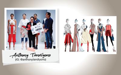Anthony Tandiyono, Desainer Muda Jebolan Lomba Perancang Mode 2017