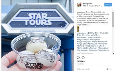 Stormtrooper dari Star Wars dalam Bentuk Mochi