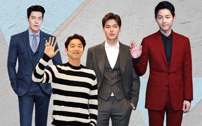 Di Balik Pesona Flower Boys: Gong Yoo hingga Song Joong-ki