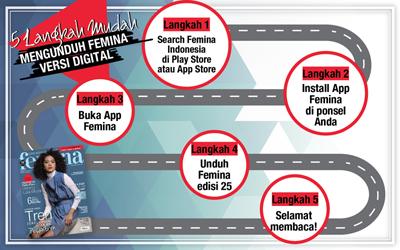 5 Langkah Mudah Mengunduh E-Magz Femina Edisi 25/2017