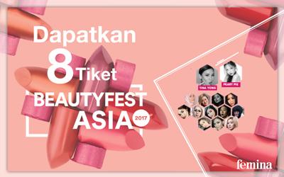 Selamat kepada 4 Pemenang Tiket Social Package BeautyFest Asia 2017