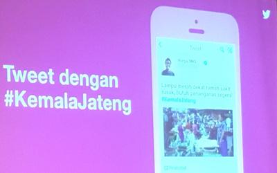Pemerintah Provinsi Jawa Tengah Berkomunikasi dengan Publik Melalui Twitter Kemala
