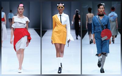 7 Inspirasi Gaya Santai untuk Berakhir Pekan dari Panggung Jakarta Fashion Week 2018