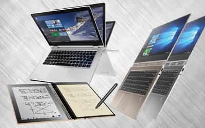 Lenovo Yoga, Notebook Fleksibel yang Bisa Dilipat 360 Derajat Untuk Presentasi Kerja