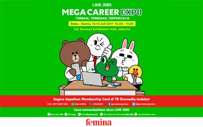 Raih Pekerjaan Impian Anda di Mega Career Expo 2017!