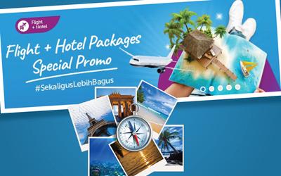 Liburan Tanpa Ribet dengan Fitur Pesawat + Hotel dari Traveloka