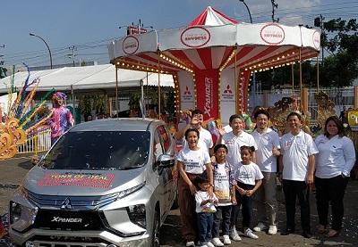 XPANDER Tons of Real Happiness Rayakan Hari Kemerdekaan di Semarang