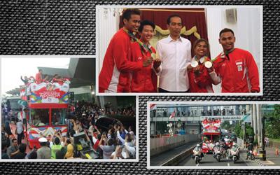 Selain Dua Hari Penyambutan, Ini Bonus-Bonus yang Diterima Atlet Indonesia Peraih Medali Olimpiade 2016