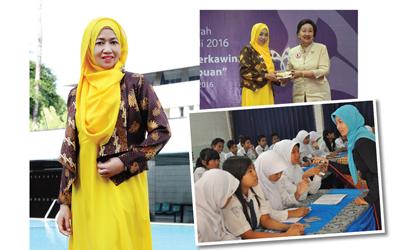 Sri Wahyuningsih, Pemenang Anugerah Saparinah Sadli Award 2016