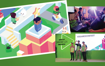 Selamat! Telah Terpilih 3 Games Terbaik Indonesia Games Contest