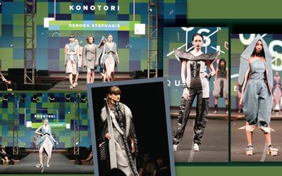 Karya Desainer Muda dari Pergelaran Mode Tahunan Universitas Kristen Maranatha
