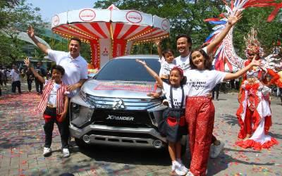 Keluarga Sasono Menjadi Brand Ambassador Mitsubishi Xpander
