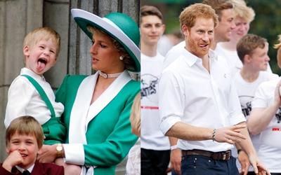 Pangeran Harry Hobi Menjulurkan Lidah Gara-Gara Ini