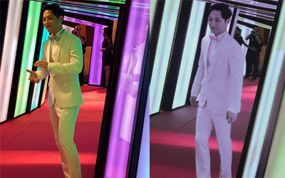 Jin Goo Membuat Suasana Indonesian Television Awards Memanas