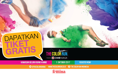 8 Pemenang Kuis The Color Run Dream World Tour 2017