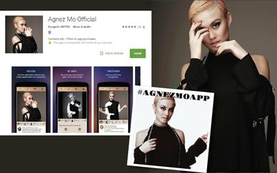 Agnez Mo Makin Dekat dengan Penggemar Lewat Aplikasi #AgnezMoApp