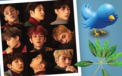 Emoji Spesial Menyambut Peluncuran Akun Twitter Resmi EXO