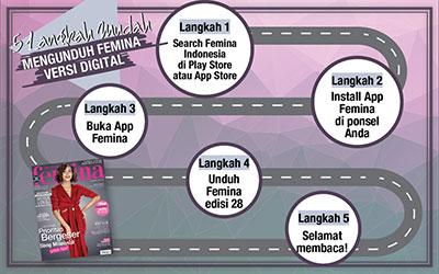 5 Langkah Mudah Mengunduh E-Magz Femina Edisi 28/2017