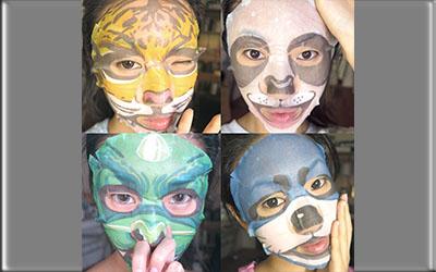 Masker Animal Asal Korea