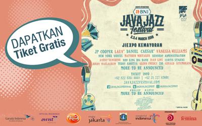 Selamat, Ini 10 Pemenang Kuis Jakarta International BNI Java Jazz Festival 2018!