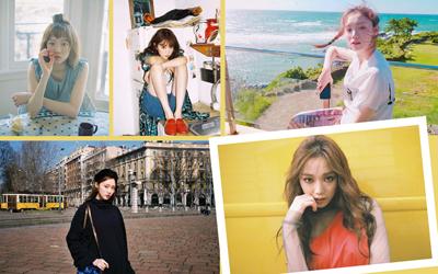 Mengintip Foto-foto Keren Lee Sung-kyung, Model dan Aktris Korea Multitalenta dari Drama Seri Weightlifting Fairy Kim Book Joo!