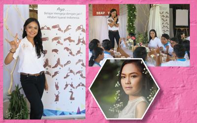 A.A Istri Putri Dwi Jayanti, Putri Sulamit Denpasar yang Menginginkan Kesetaraan untuk Kaum Tuli