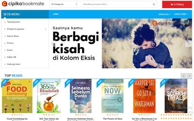 Cipika Bookmate, Aplikasi Baru untuk Para Kutu Buku