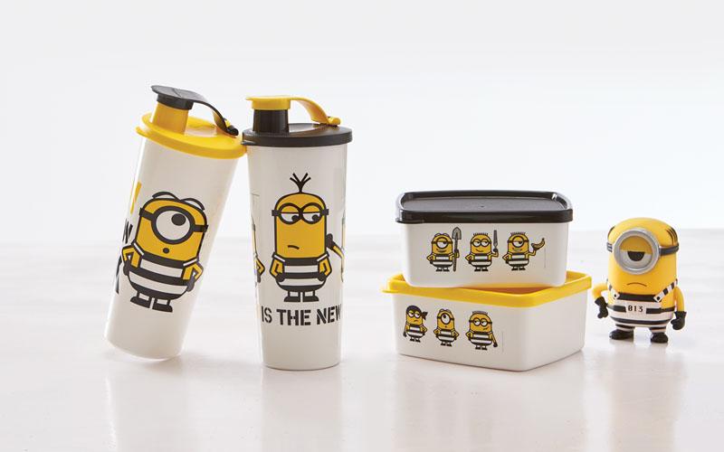 Ulang Tahun ke-26, Tupperware Luncurkan Produk Baru, New Eco Bottle dan Minion Bello Set