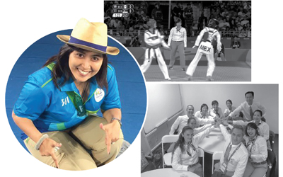 Rahadewineta, Wanita Wasit Taekwondo Pertama dari Indonesia di Olimpiade Rio 2016