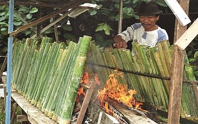 Gaya Masak Tradisional: Masak dalam Bambu