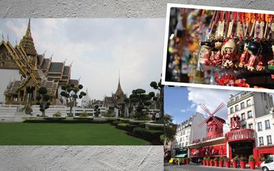 Bangkok Jadi Kota Wisata Terpopuler di Dunia Versi Mastercard 2017, Jakarta Posisi Berapa?