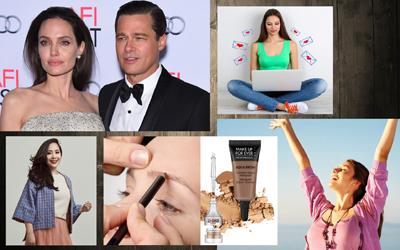 5 Berita Populer Minggu Ini: Nagita Slavina Berkompromi dengan Raffi Ahmad - Kabar Perceraian Angelina Jolie dan Brad Pitt