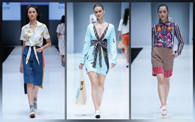 Curi Perhatian dengan 7 Pilihan Gaya dengan Permainan Print dari Jakarta Fashion Week 2018