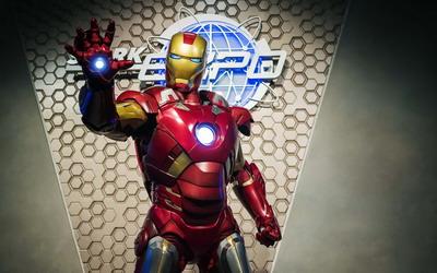 Yuk, Ketemu Iron Man di Disneyland Hong Kong