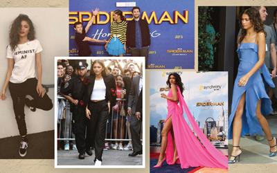 Intip 6 Pilihan Gaya Zendaya, Pemeran Michelle di Spider-Man: Homecoming