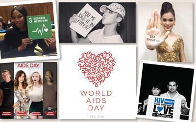 Peringatan Hari AIDS, Simak 10 Foto Ajakan untuk Memerangi HIV/AIDS