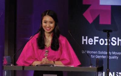 Lupita Ardhyaningrum, Penyintas Kekerasan Seksual Bicara Tentang Pengalamannya di Forum Global