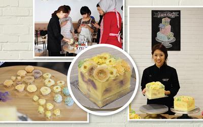 8 Tip Dasar Dekorasi Korean Buttercream Flowers dari Lucia Cake